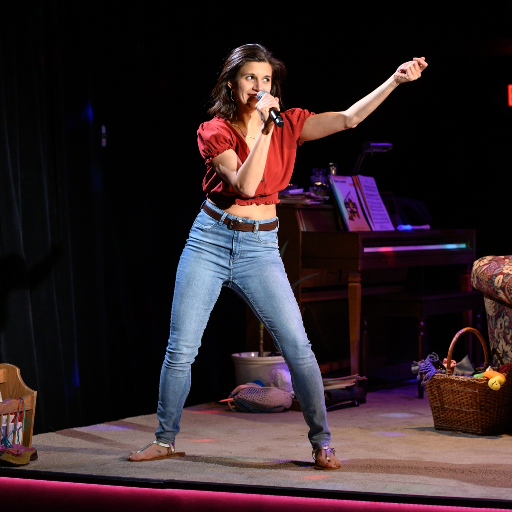 Elyse Ahmed singing in Song of Summer